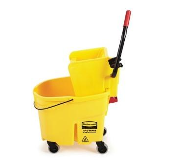 Rubbermaid Mop Bucket Yellow - Mabrook Hotel Supplies