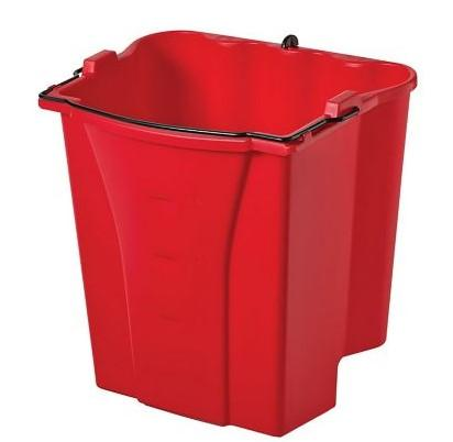 Rubbermaid Dirty Water Bucket Red - Mabrook Hotel Supplies