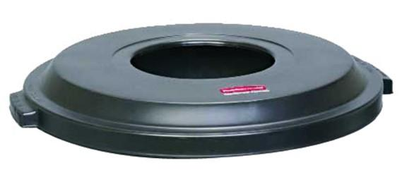 Rubbermaid Light Duty Container Lid - Black - Mabrook Hotel Supplies