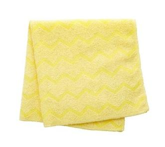"""16"""" MICROFIBER, YELLOW -  SQUARE HYGEN BATHROOM CLOTH"""