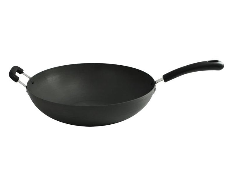 SEAGULL HARD ANODIZED WOK 32 CM - Mabrook Hotel Supplies