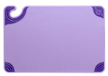 SAN JAMAR ALLERGEN SAF-T-GRIP CUTTING BOARD PURPLE -  30.5*45.7*1.3 CM - Mabrook Hotel Supplies
