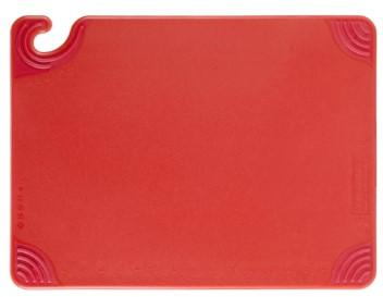SAN JAMAR SAF-T-GRIP CUTTING BOARD RED - 38*50*11 CM - Mabrook Hotel Supplies