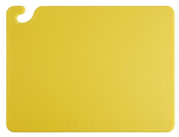 """CUTTING BOARD, WG, DIM: 32.5X53X1.5CM, COLOR: YELLOW"" - Mabrook Hotel Supplies"