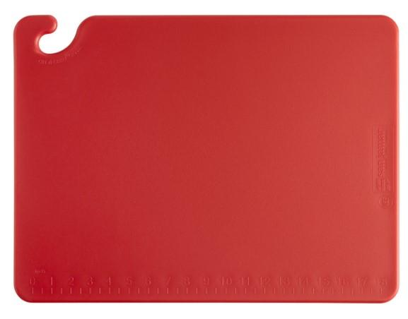 """CUTTING BOARD, WG, DIM: 40X60X1.5CM, COLOR: RED"" - Mabrook Hotel Supplies"