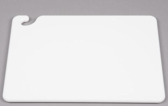 """CUTTING BOARD, WG, DIM: 40X60X1.5CM, COLOR: WHITE"" - Mabrook Hotel Supplies"