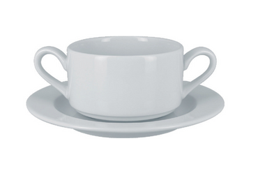 RAK ACCESS SOUP BOWL SAUCER - Mabrook Hotel Supplies