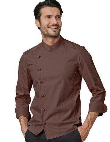 CHEF JACKET TOBACCO - Mabrook Hotel Supplies