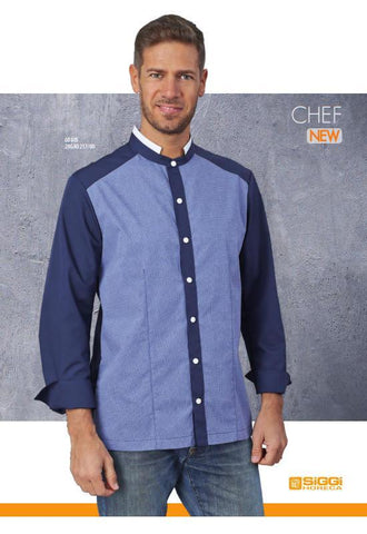 MAN JACKET BLUE - Mabrook Hotel Supplies