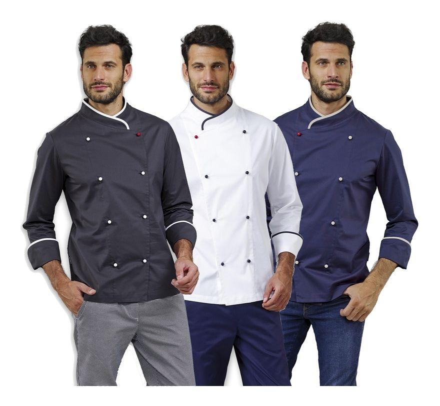 CHEF JACKET GREY - Mabrook Hotel Supplies