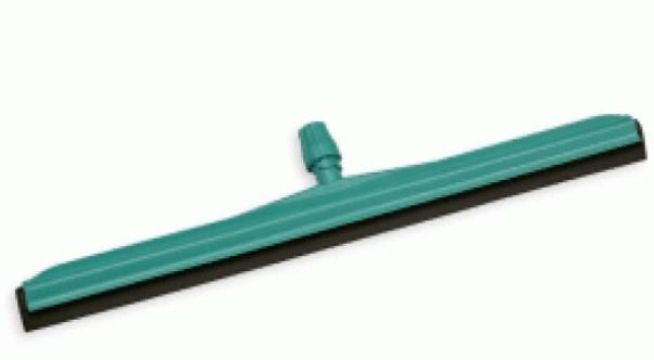 GREEN PLASTIC FLOOR SQUEEGEE,BLACK RUBBER,DIA-55CM - Mabrook Hotel Supplies