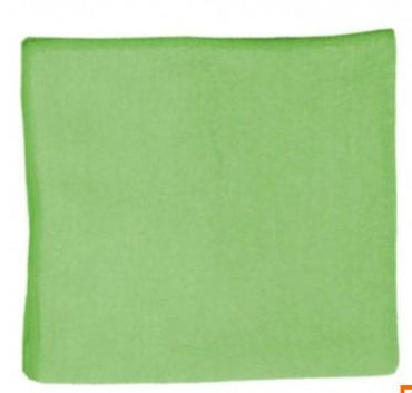 MULTI-T MICROFIBRE CLOTH, SIZE: 40 X 40cm, GREEN (PACK OF 5)