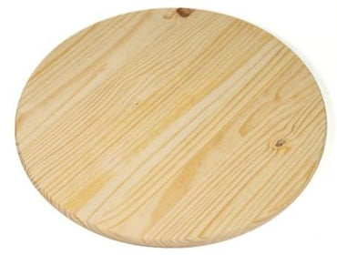 ROUND WOODEN BOARD W/OUT HANDLE SIZE 21CM