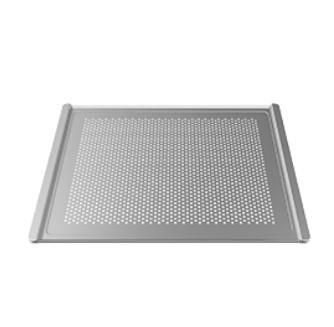"""FLAT ALUMINIUM PERFORATED TRAY, SIZE:460X330"""