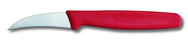 """VICTORINOX PARING KNIFE, CURVEY BLADE, 6 CM, COLOR: RED"""
