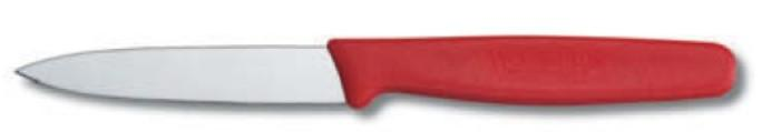 """VICTORINOX PARING KNIFE, POINTED TIP, 8 CM, COLOR: RED"" - Mabrook Hotel Supplies"