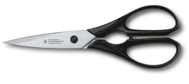 """VICTORINOX MULTIPURPOSE KITCHEN SHEAR, COLOR: BLACK."" - Mabrook Hotel Supplies"