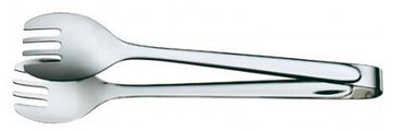 Salad serving tongs 31 cm, stainless 18/10, polished length 12 1/4 in. - Mabrook Hotel Supplies