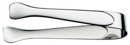Sugar tongs, stainless 18/10, polished length 4 1/4 in. - Mabrook Hotel Supplies