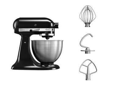 KitchenAid CLASSIC 4.3 L Tilt-Head Stand Mixer - Black