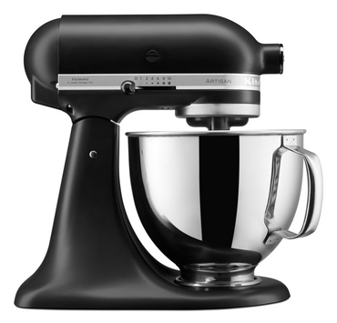 KitchenAid ARTISAN 4.8 L Tilt-Head Stand Mixer - Matt Black - Mabrook Hotel Supplies
