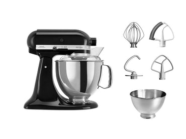 KitchenAid ARTISAN 4.8 L Tilt-Head Stand Mixer - Onyx Black - Mabrook Hotel Supplies