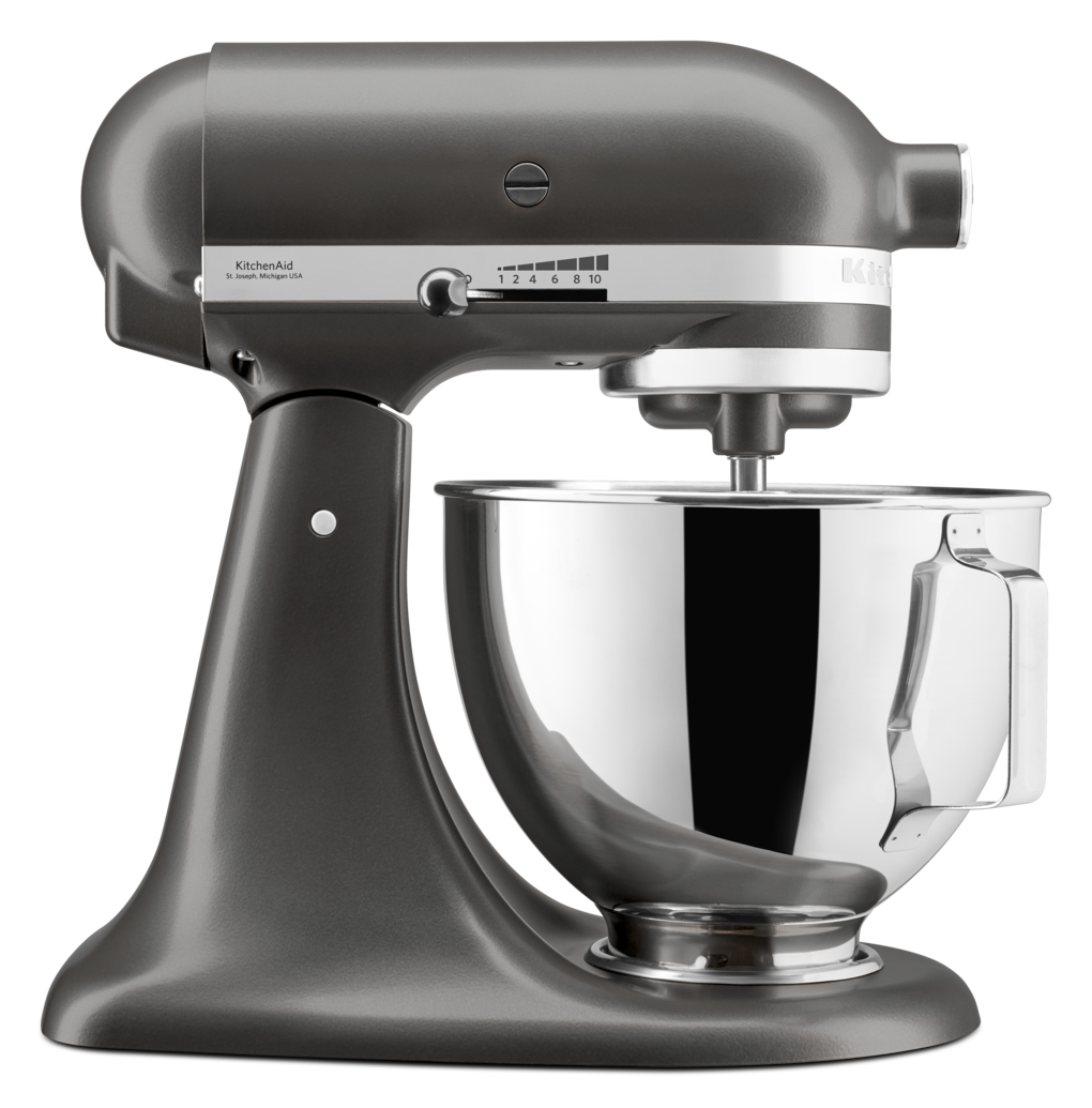 KitchenAid 4.3L Stand Mixer With Pouring Shield In Slate
