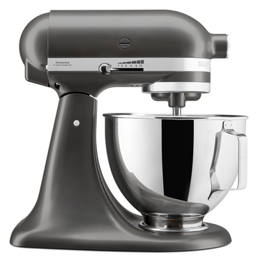 KitchenAid 4.3L Stand Mixer With Pouring Shield In Slate - Mabrook Hotel Supplies