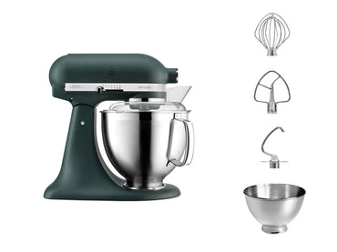 KitchenAid ARTISAN 4.8 L Tilt-Head Stand Mixer - Pebble Palm - Mabrook Hotel Supplies