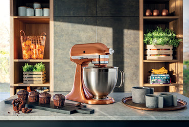 KitchenAid ARTISAN 4.8 L Tilt-Head Stand Mixer Copper - Mabrook Hotel Supplies