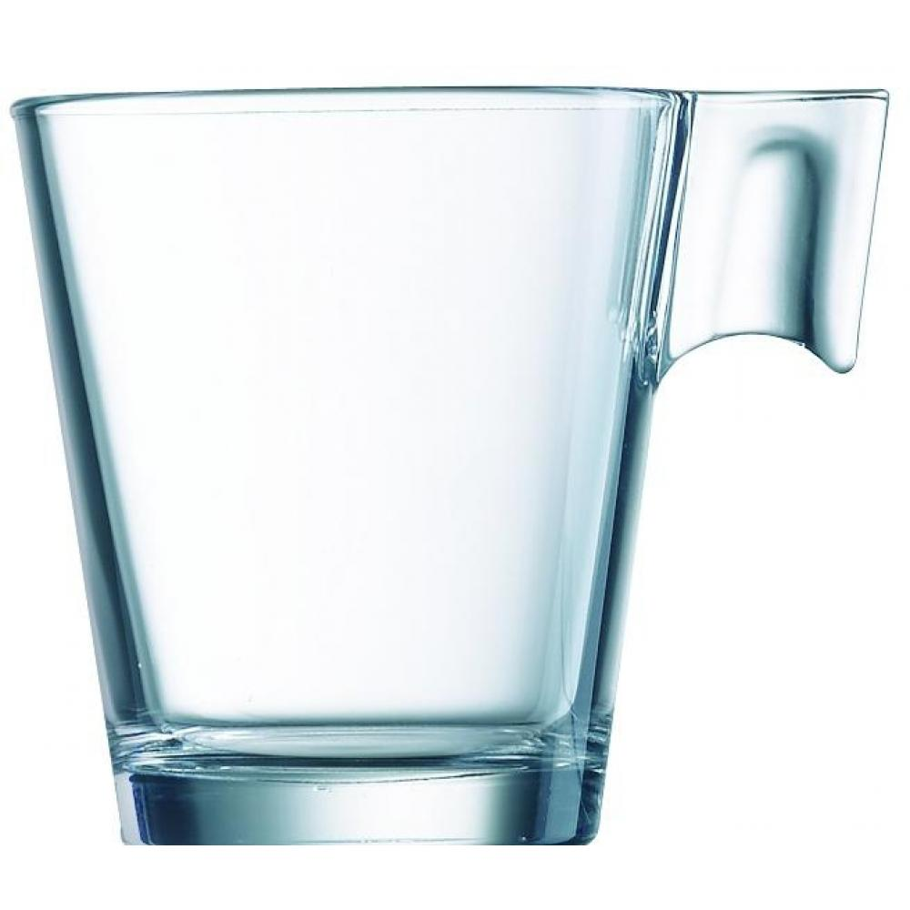 ARCOROC AROMA TEMPERED CLEAR CUP -  7.75 OZ - Mabrook Hotel Supplies
