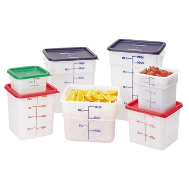 Cambro, Translucent Square Food Storage Container