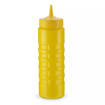 """""""SQUEEZE BOTLE DISPENSER 24 OZ WIDE MOUTH CLOSEABLE CAP M"""""""