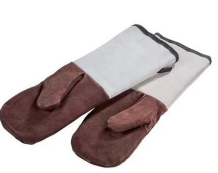 Oven gloves with long sleeves - Mabrook Hotel Supplies
