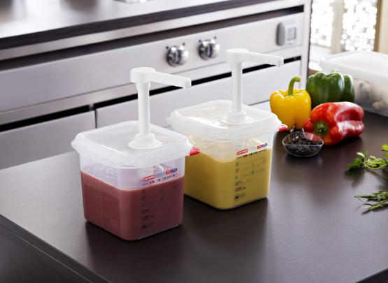 Sauce dispenser GN 1/6 Capacity: 2.6L - Mabrook Hotel Supplies