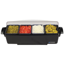 SAN JAMAR CONDIMENT AND GARNISH TRAY 4 COMPARTMENTS