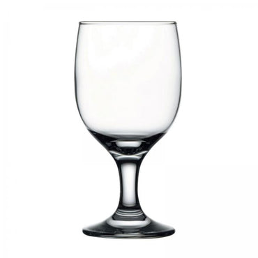 PASABAHCE CAPRI GOBLET GLASS - Mabrook Hotel Supplies