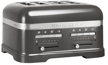 KITCHENAID ARTISAN Toasters  4 SLICES - MEDALLION SILVER - Mabrook Hotel Supplies