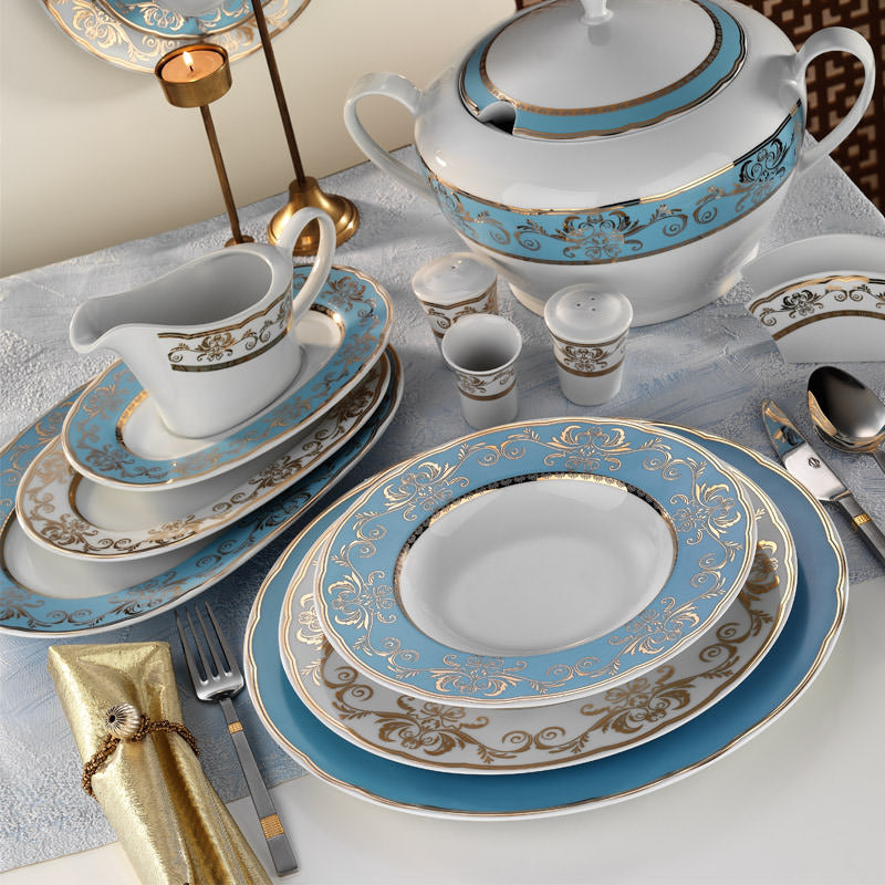KUTAHYA DINNER SET 97 PCS - Mabrook Hotel Supplies