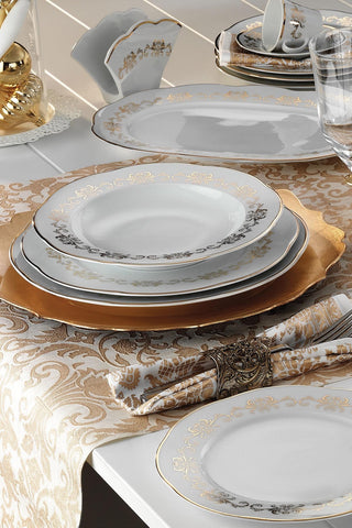 KUTAHYA DINNER SET 83 PCS