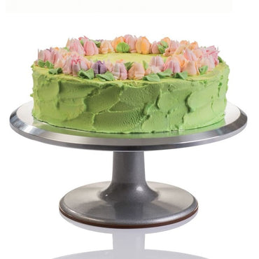 MARTELLATO ALUMINIUM CAKE TURNABLE - 29 CM - Mabrook Hotel Supplies