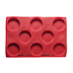 PAVONI MICRO PERFORATED ROUND SILICON MOULD - Mabrook Hotel Supplies