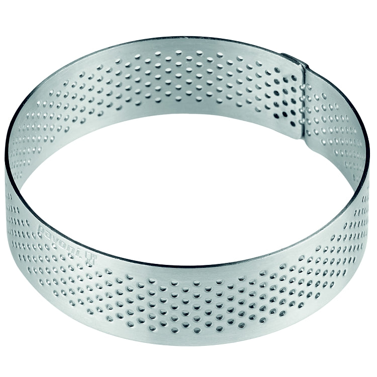 PAVONI ROUND STAINLESS STEEL MICROPERFORATED BAND, 7 Ø - Mabrook Hotel Supplies