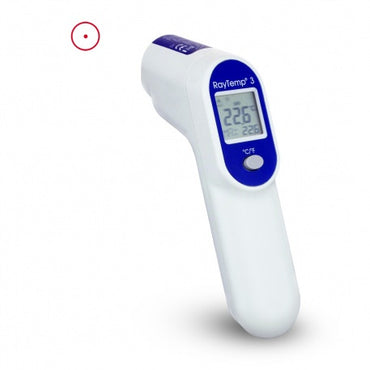 ETI RAYTEMP 3 INFARED GUN SHAPED NON CONTACT THERMOMETER