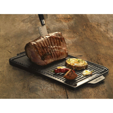 LAVA GRIDDLE/GRILL PLATE DUAL SIDE - Mabrook Hotel Supplies