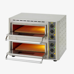 ROLLER GRILL PROFESSIONAL DOUBLE PIZZA OVEN - Mabrook Hotel Supplies