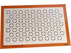 DEMARLE PASTRY MAT SILPAT MACAROONS - 58.5x38.5 CM