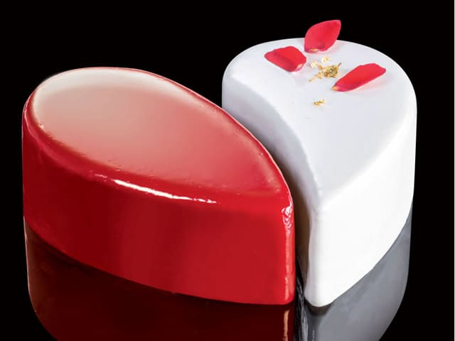 CAKE IDEA HEART D.19 - Mabrook Hotel Supplies