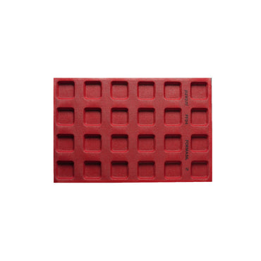 PAVONI MICRO PERFORATED SQUARE SILICON MOULD - Mabrook Hotel Supplies