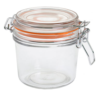 TABLECRAFT GLASS CONDIMENTS JAR 12 OZ / 350 ml - Mabrook Hotel Supplies